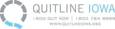 the Quitline Iowa Logo